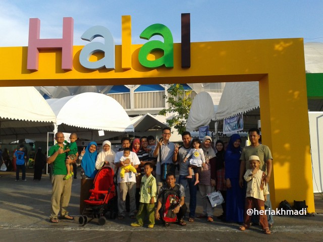ngajikok goes to halal expo 2014